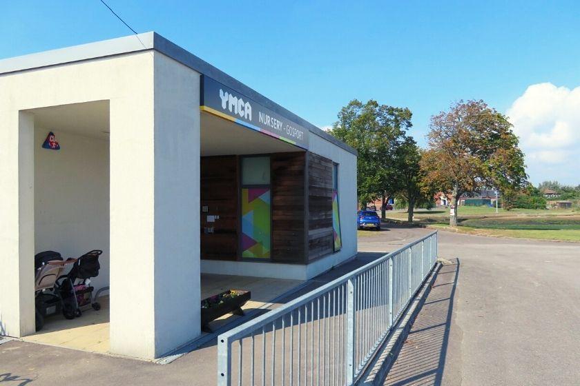 YMCA Nursery Gosport Building Front