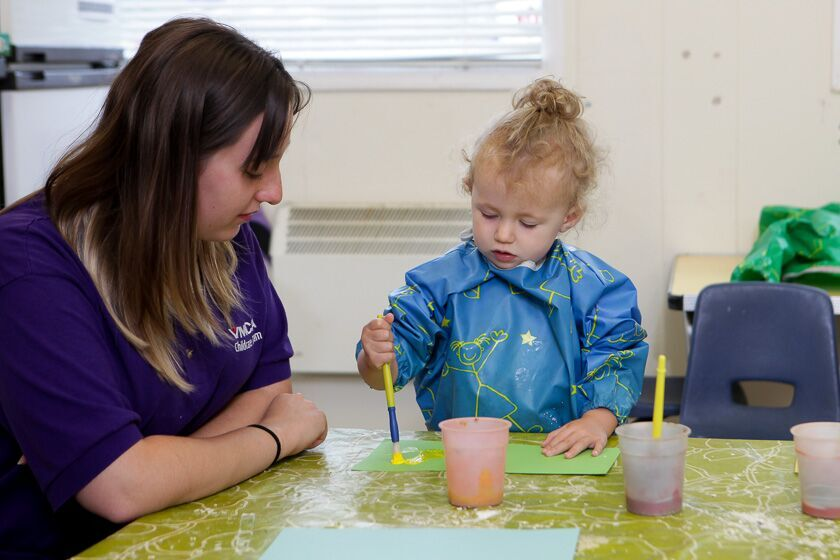 Painting at Gosport Nursery