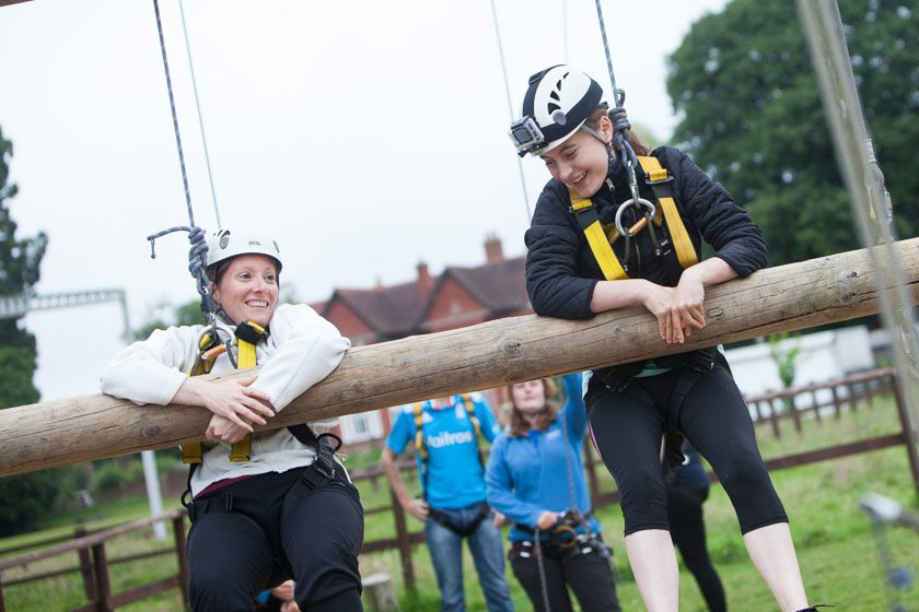 Fairthorne Manor; Jacobs Ladder ; Team Building ; Adult Activities ; Teamwork ; Support ; Listening ; Helping ; Caring