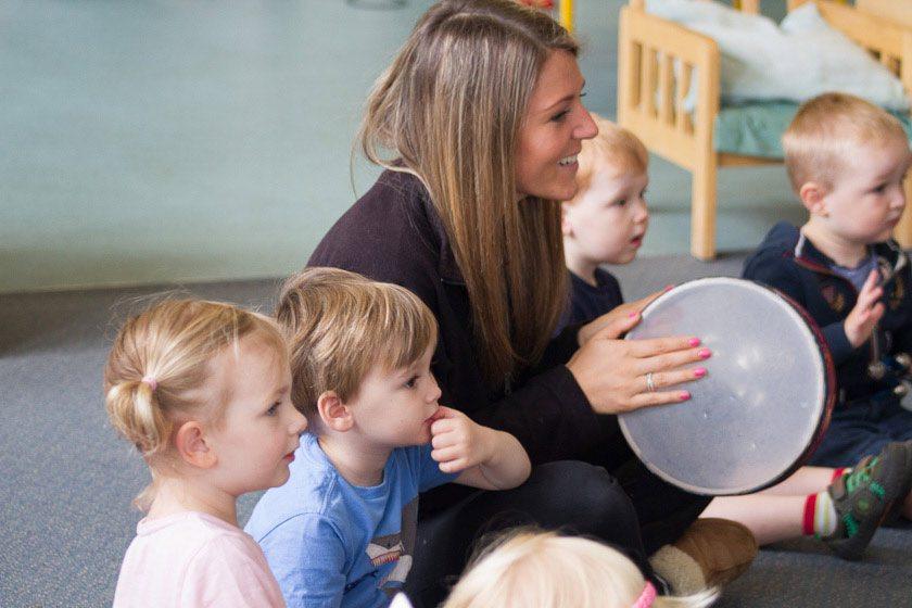 music; children; Fairthorne Manor Nursery;