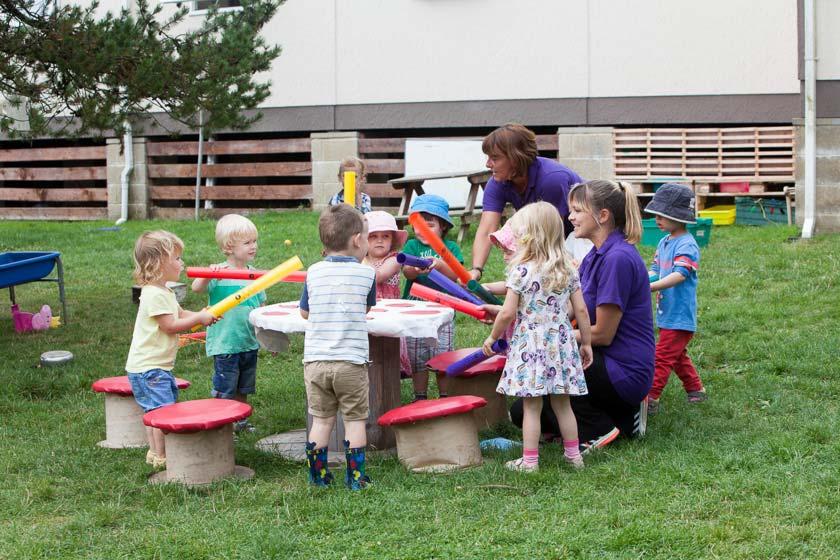 Nursery outdoor play