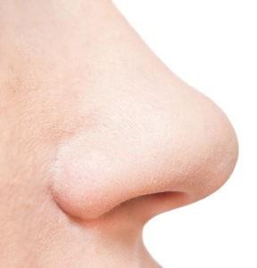 nose isolated on white background