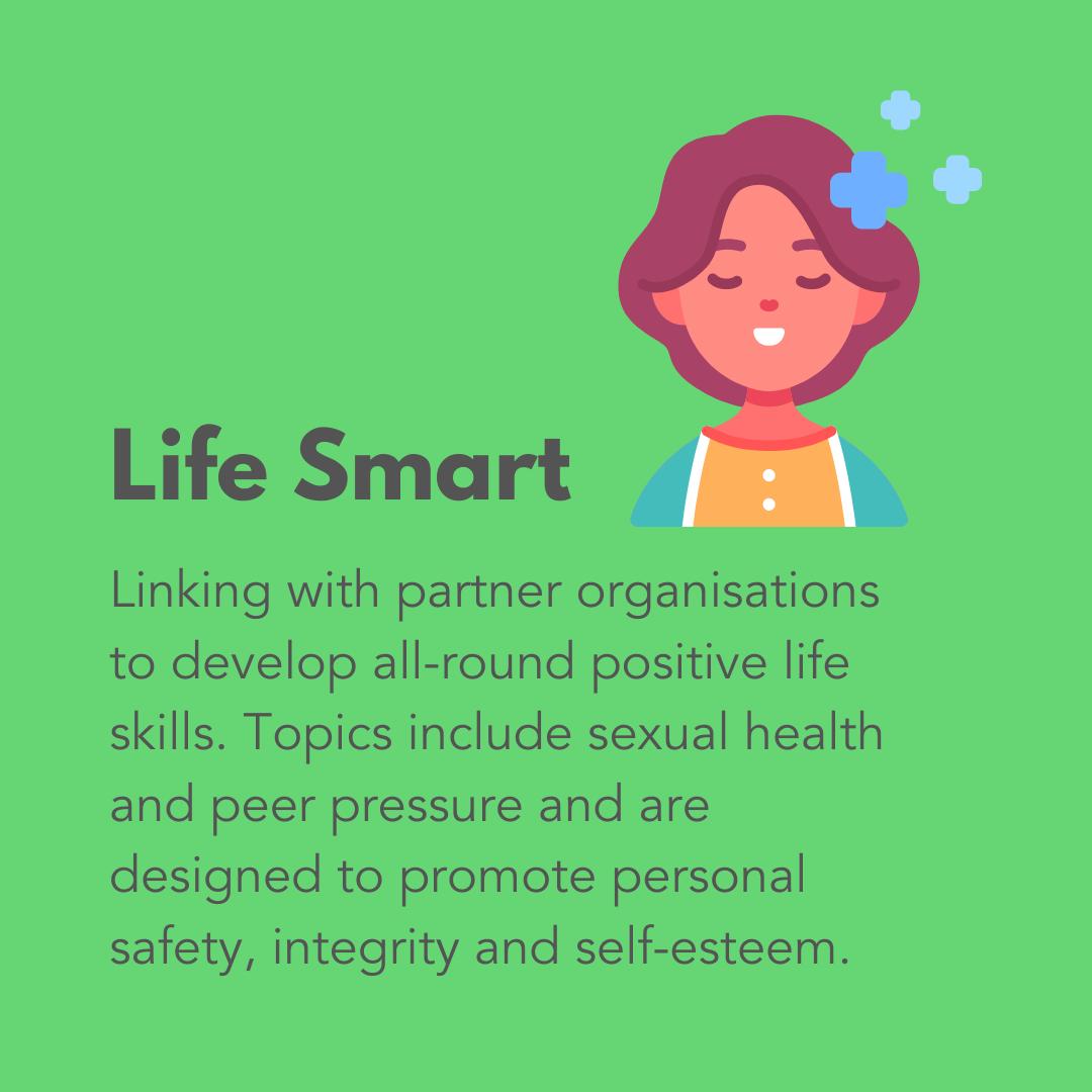 Life Smart Graphic